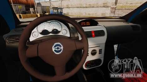 Chevrolet Montana FIXA für GTA 4 Innenansicht