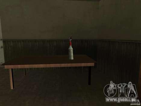 Pak armes domestiques pour GTA San Andreas quatrième écran