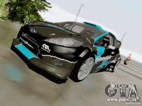 Ford Fiesta RS pour GTA San Andreas vue de côté