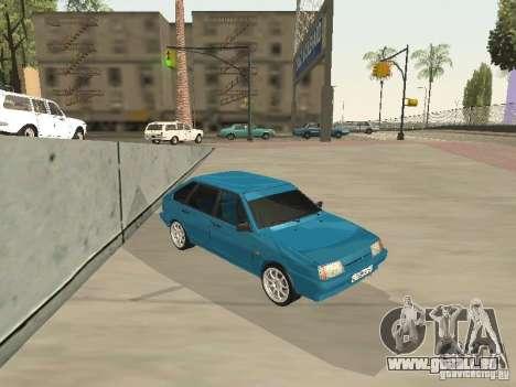 VAZ 21093 Tuning pour GTA San Andreas sur la vue arrière gauche