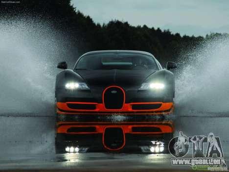 Écrans de chargement Bugatti Veyron pour GTA San Andreas