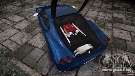 Ferrari F430 v1.1 2005 pour GTA 4 est un droit