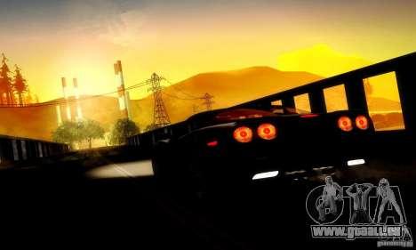 Chevrolet Corvette ZR-1 pour GTA San Andreas roue