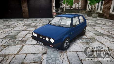 Volkswagen GOLF MK2 GTI für GTA 4 Rückansicht