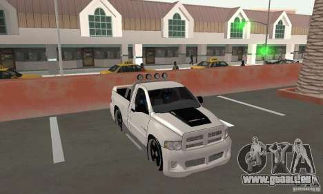 Dodge Ram SRT-10 Tuning pour GTA San Andreas