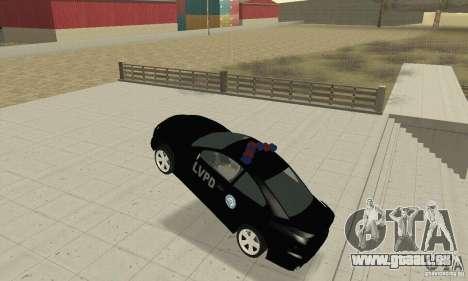Pontiac GTO 2004 Cop pour GTA San Andreas vue arrière
