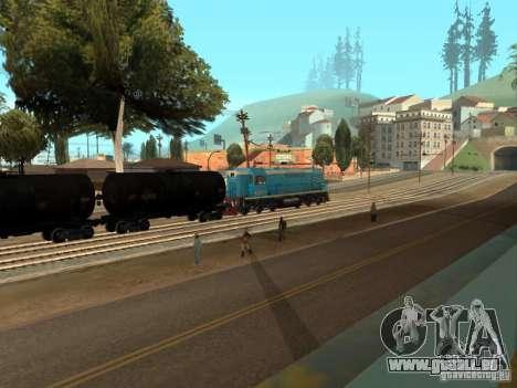 Tem2u-9392 pour GTA San Andreas vue intérieure