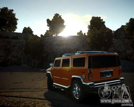 Hummer H2 2010 Limited Edition pour GTA 4 est un côté