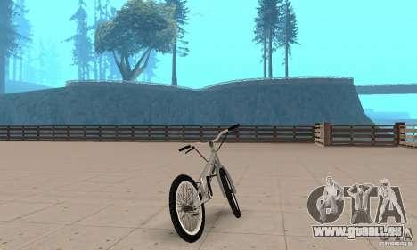CS Fahrräder BMX für GTA San Andreas linke Ansicht