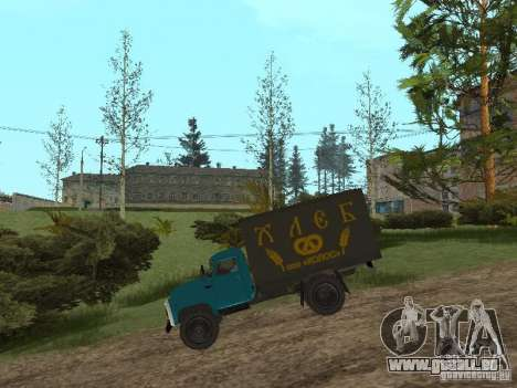 GAZ 52 pour GTA San Andreas sur la vue arrière gauche