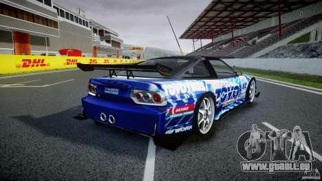 Nissan 240sx Toyo Kawabata für GTA 4 obere Ansicht