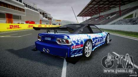 Nissan 240sx Toyo Kawabata pour GTA 4 vue de dessus