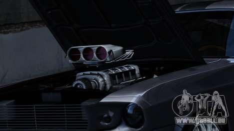 Ford Shelby Mustang GT500 Eleanor pour GTA 4 Vue arrière de la gauche