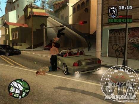 Spyder Cambriocorsa pour GTA San Andreas vue arrière
