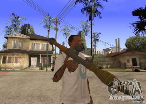 Le RPG-7 pour GTA San Andreas deuxième écran