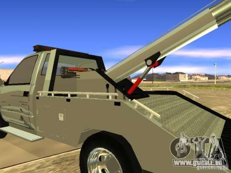 GMC Sierra Tow Truck pour GTA San Andreas vue de droite