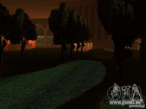 Das geheime unterirdische Stadt v1. 0 für GTA San Andreas dritten Screenshot