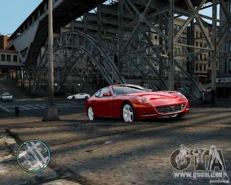 Ferrari 612 Scaglietti pour GTA 4 est une gauche