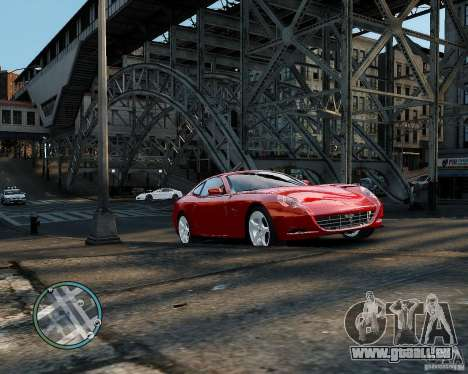 Ferrari 612 Scaglietti für GTA 4 linke Ansicht