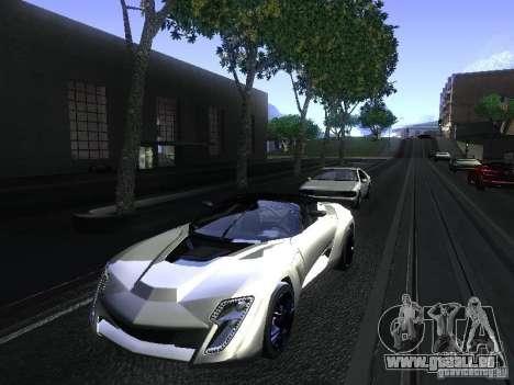 Bertone Mantide pour GTA San Andreas