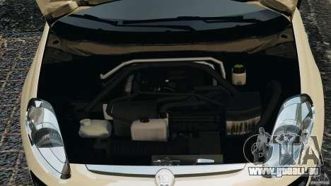 Fiat Punto Evo Sport 2012 v1.0 [RIV] pour GTA 4 vue de dessus
