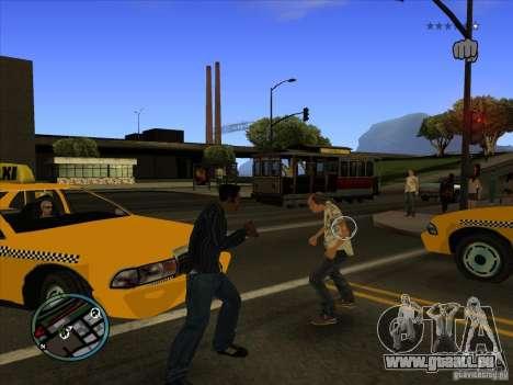 GTA IV TARGET SYSTEM 3.2 pour GTA San Andreas deuxième écran
