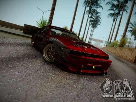 Nissan Silvia S13 Daijiro Yoshihara v2 pour GTA San Andreas laissé vue