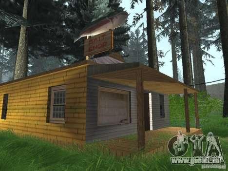 Geänderte Angel Pine village für GTA San Andreas fünften Screenshot
