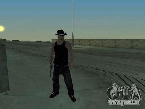 Black Rifa SkinPack pour GTA San Andreas