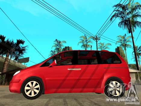 Citroen C8 für GTA San Andreas linke Ansicht