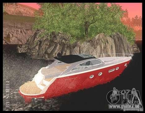 Cartagena Delight pour GTA San Andreas sur la vue arrière gauche