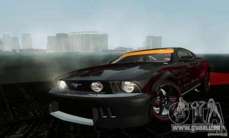 Ford Mustang GT Tunable pour GTA San Andreas laissé vue