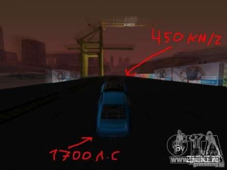 Drift mod für GTA San Andreas dritten Screenshot
