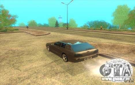 New Elegy Hatch 2011 pour GTA San Andreas sur la vue arrière gauche