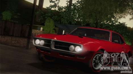 Pontiac Firebird 400 (2337) 1968 pour GTA San Andreas