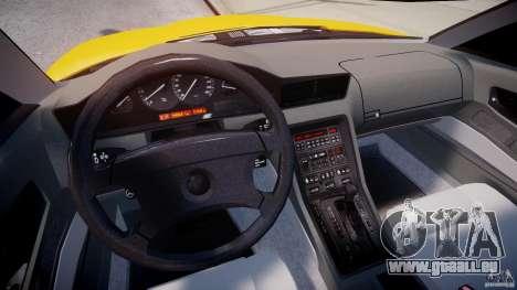 BMW 850i E31 1989-1994 pour GTA 4 est un droit