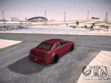 Chrysler 300C SRT8 pour GTA San Andreas vue intérieure