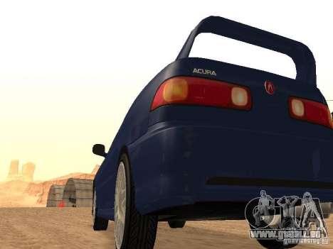Acura RSX Light Tuning für GTA San Andreas zurück linke Ansicht