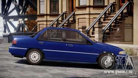 Mercury Tracer 1993 v1.0 pour GTA 4 est un côté