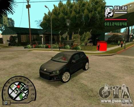 Volswagen Scirocco pour GTA San Andreas