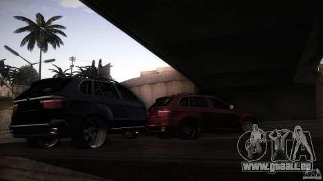 BEAM X5 Trailer pour GTA San Andreas vue arrière