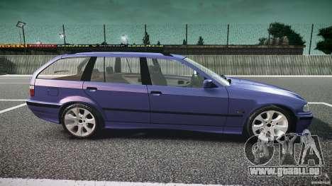 BMW 318i Touring für GTA 4 Innenansicht