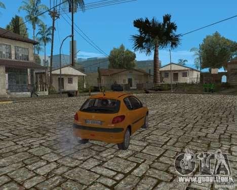 Peugeot 306 pour GTA San Andreas vue de droite