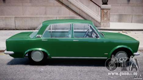 Fiat 125p Polski 1970 pour GTA 4 vue de dessus