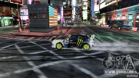 Subaru Impreza WRX STI Rallycross Monster Energy für GTA 4 Seitenansicht