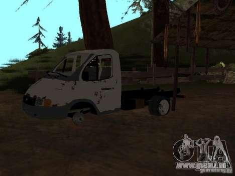 Une Gazelle pour GTA San Andreas troisième écran