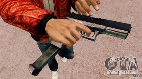 Glock 18 Akimbo (schwarz/grau) für GTA 4 Sekunden Bildschirm