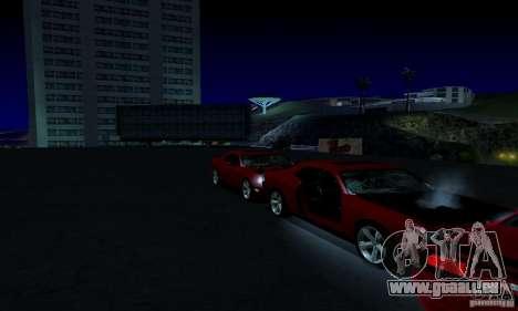 Dodge Challenger SRT8 2009 für GTA San Andreas Unteransicht