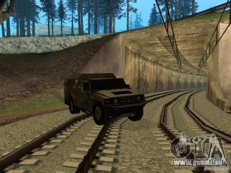 Hummer H2 Army für GTA San Andreas