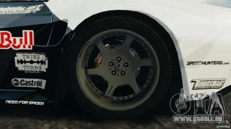 Mazda RX-7 Mad Mike pour GTA 4 vue de dessus